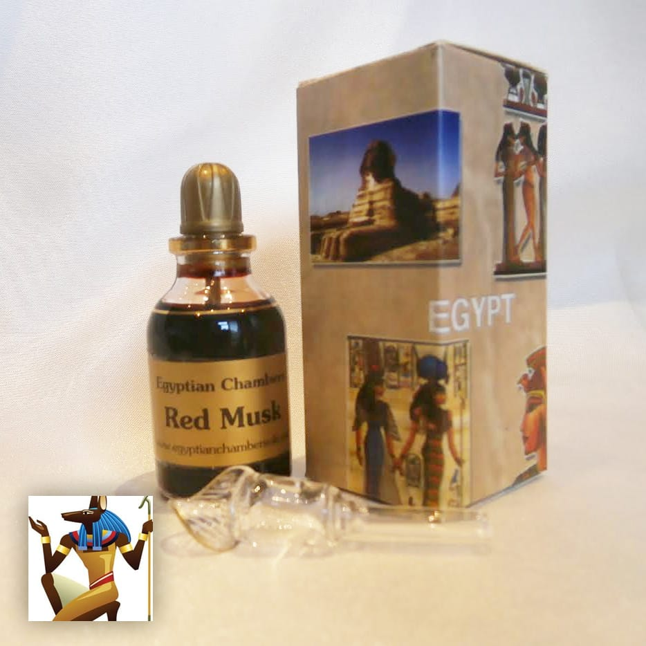 Egyptian Chambers Red Musk Oil